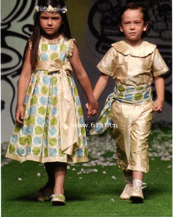 欧美时尚童装杂志欣赏
