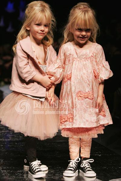 新西兰trelise cooper时尚儿童服装秀