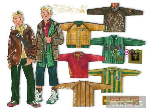 0809春夏男孩服装设计图
