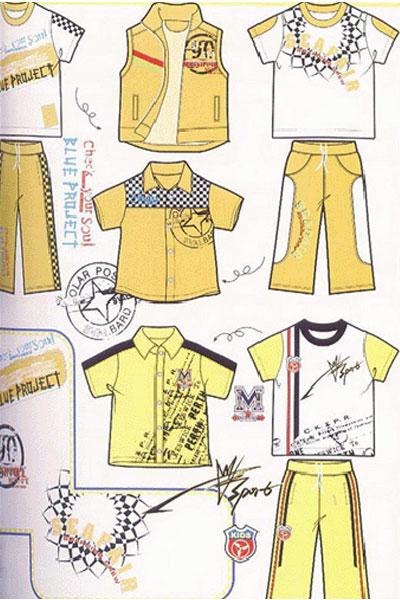 幼儿卡通裤子简笔画