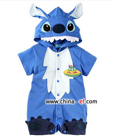 韩国宝宝可爱童装 小动物图案风尚