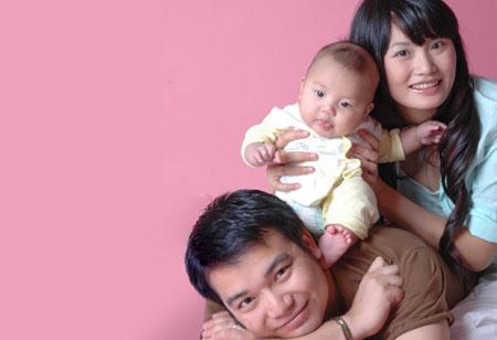 我们是幸福的一家人