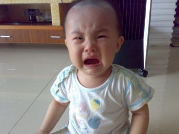 宝宝的哭原来也可以这么可爱