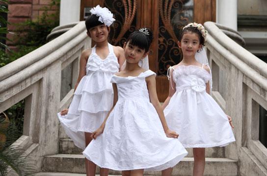 欧式小女孩装扮